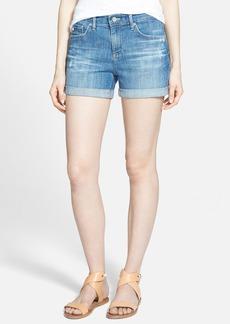 AG 'Hailey' Cuff Denim Shorts (17 Year Sunseeker)