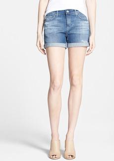 AG 'Hailey' Denim Shorts (Open Air Rip)