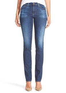 AG 'Harper' Slim Straight Leg Jeans (5 Year Argent)