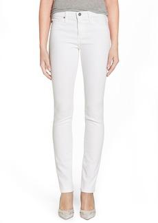 AG 'Harper' Slim Straight Leg Jeans (White)