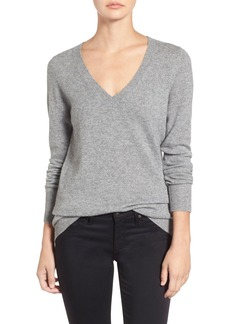 AG 'Hayden' V-Neck Cashmere Sweater