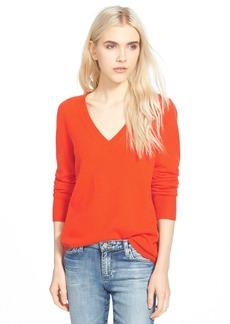 AG 'Hayden' V-Neck Cashmere Sweater