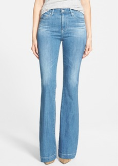 AG 'Janis' High Rise Flare Jeans (25 Years Classic)