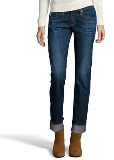 AG Jeans 5 years origin dark blue 'tomboy' boyfriend jeans