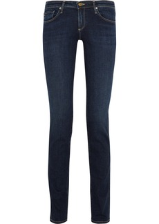 AG Jeans Aubrey low-rise skinny-straight jeans