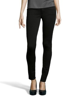 AG Jeans black stretch cotton 'The Legging' pants