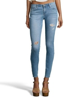 AG Jeans bora stretch cotton distressed denim 'The Legging' skinny jeans