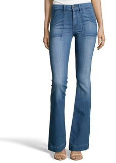 AG Jeans captivate stretch cotton 'Goldie' bell bottom jeans