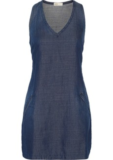 AG Jeans Cotton-blend twill mini dress
