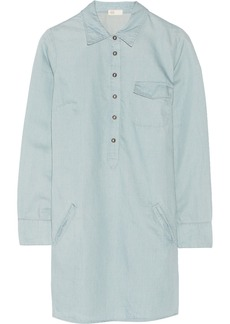 AG Jeans Cotton-blend twill shirt dress
