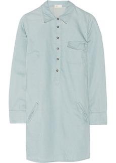 AG Jeans Cotton-blend twill shirt dress