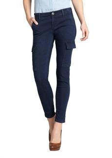 AG Jeans dark blue stretch cotton denim skinny cargo jeans