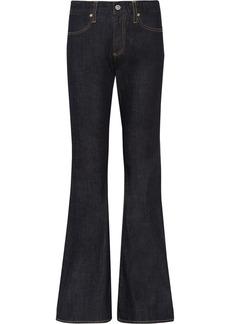 AG Jeans Farrah mid-rise wide-leg jeans