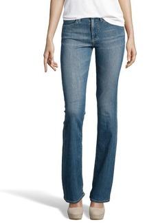 AG Jeans medium blue stretch denim 70's bell bottom 'Farrah' jeans