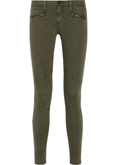 AG Jeans Moto low-rise skinny jeans