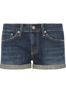 AG Jeans Pixie low-rise denim shorts