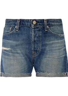 AG Jeans Rambler distressed denim shorts