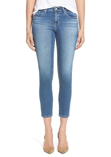 AG Jeans 'The Stilt' Crop Skinny Stretch Jeans (13 Year Solitude)