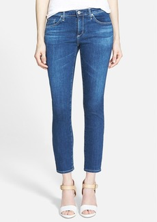 AG Jeans 'Stilt' Crop Skinny Stretch Jeans (Moon Blue)