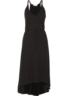 AG Jeans Supima cotton and modal-blend jersey midi dress