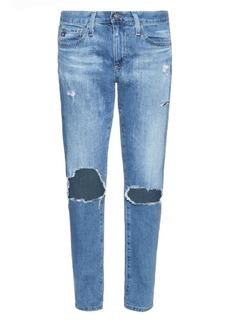AG Jeans The Beau low-slung boyfriend jeans