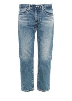 AG Jeans The Drew low-slung boyfriend jeans