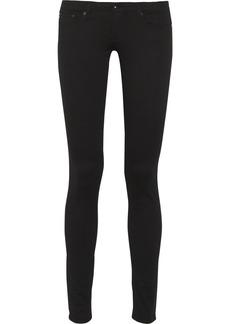 AG Jeans The Legging low-rise cotton-blend jeans