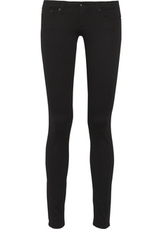 AG Jeans The Legging low-rise cotton-blend jeans