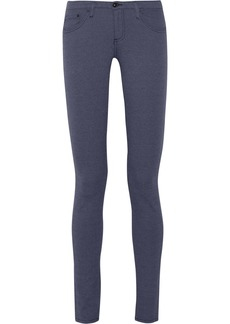 AG Jeans The Legging mid-rise cotton-blend jeans