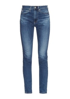 AG Jeans The Sophia high-rise skinny jeans
