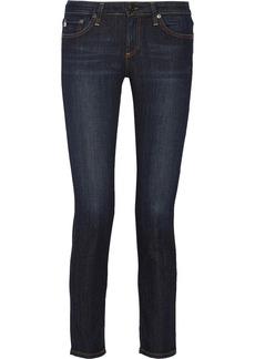 AG Jeans The Stevie Petite mid-rise slim-leg jeans