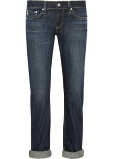AG Jeans Tomboy low-rise boyfriend jeans