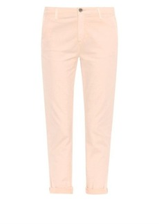 AG Jeans Tristan mid-rise relaxed-fit trousers