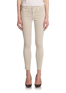 AG Legging Ankle Cozy Twill Skinny Jeans