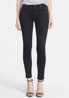 AG 'Middi' Ankle Skinny Jeans (3 Year Nightfall)