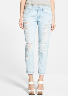 AG 'Nikki' Relaxed Skinny Crop Jeans (28 Years Shredded)