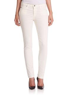 AG Prima Mid-Rise Corduroy Cigarette Jeans