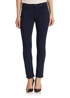 AG Prima Sateen Mid-Rise Cigarette Jeans