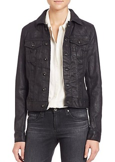 AG Robyn Coated Denim Jacket