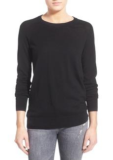 AG 'Rylea' Cashmere & Silk Crewneck Sweater