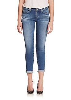 AG Stilt Cigarette Roll-Up Jeans