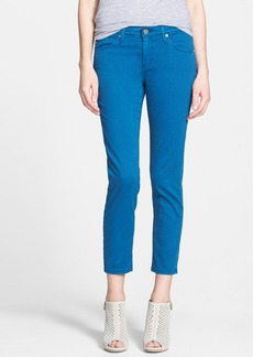 AG 'Stilt' Crop Cigarette Jeans (Full Moon Blue)