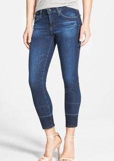 AG 'Stilt' Released Hem Crop Jeans (2 Year Cusp)