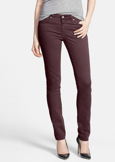 AG 'Stilt' Sateen Skinny Ankle Jeans (Crimson Maple)