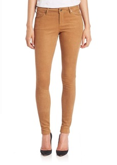 AG Suede Legging Jeans