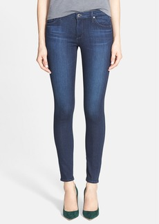 AG Super Skinny Ankle Jeans (Coal Blue)