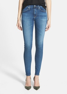 AG 'The Farrah' High Rise Skinny Jeans (11-Year Journey)