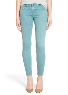 AG 'The Legging' Ankle Jeans (Sun Faded Symbol Red)