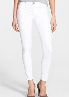 AG 'The Legging' Ankle Skinny Jeans (White White)