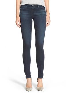 AG 'The Legging'Super Skinny Jeans (Black Sand)